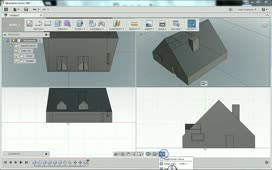 Modeling A Simple House In Fusion 360 Fusion 360 Autodesk Knowledge Network